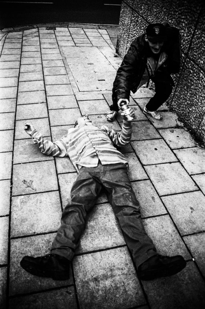 Homelessness in the UK by Thaddeus Pope
