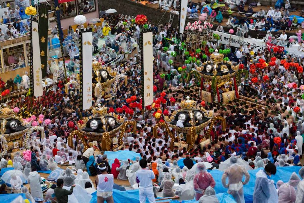 The Nada no Kenka Matsuri (Nada Fighting Festival) by Thaddeus Pope